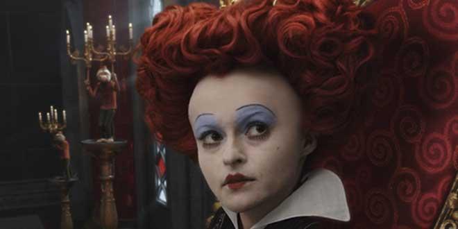 Helena Bonham Carter en Alicia en el País de las Maravillas de Tim Burton, 2010