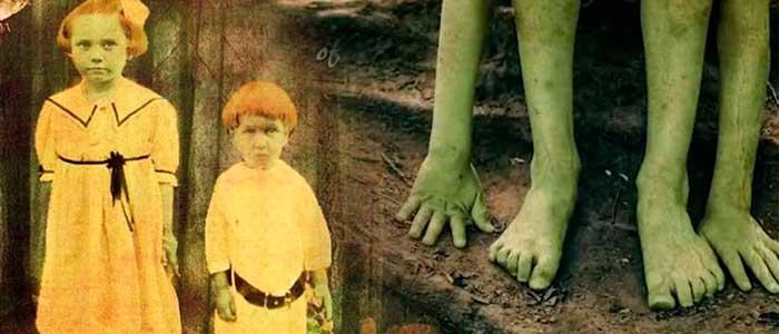 historia de los niños verdes