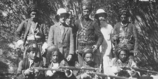 Kurdos del ejército turco