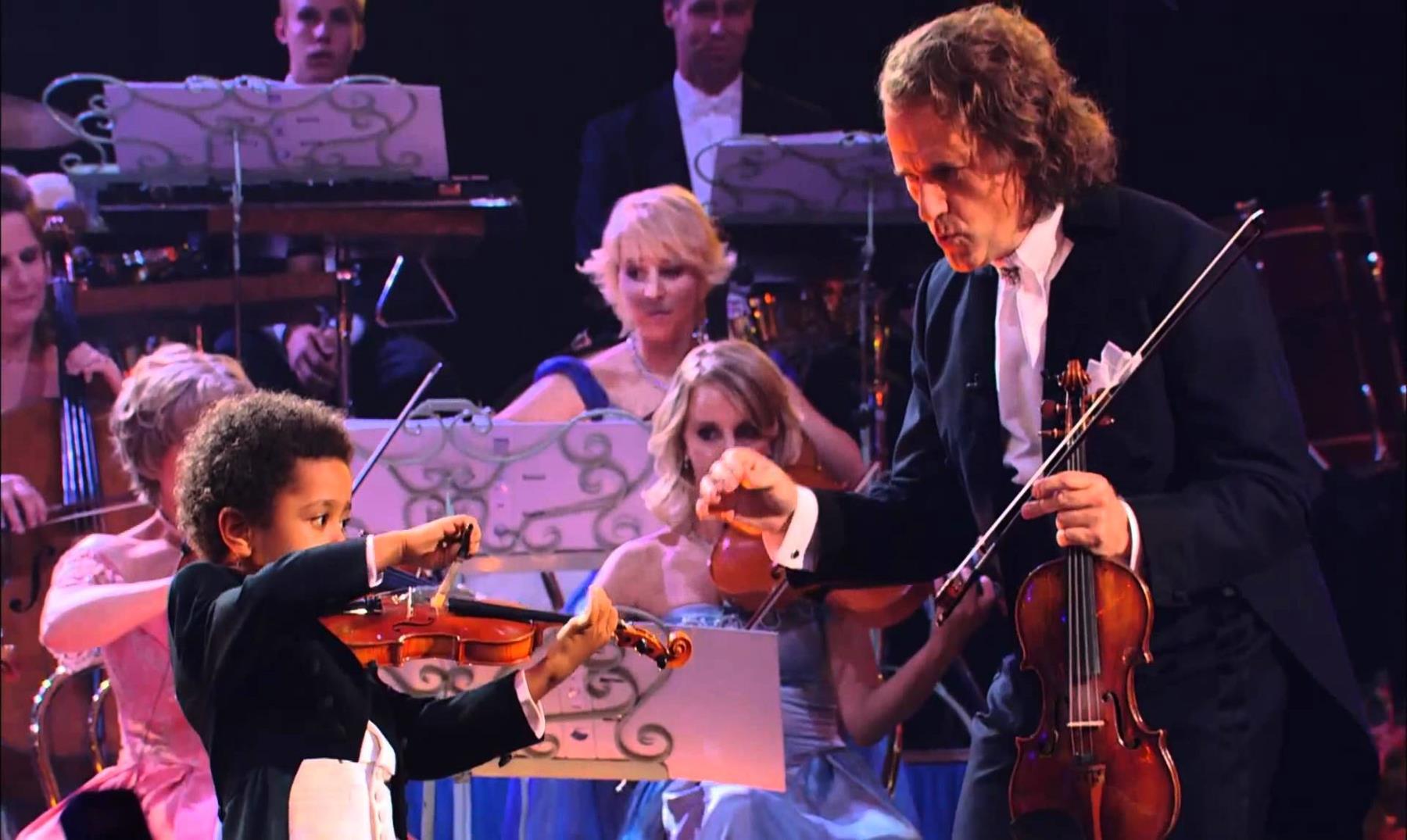 Akim Camara, prodigio del violín desde los 3 años