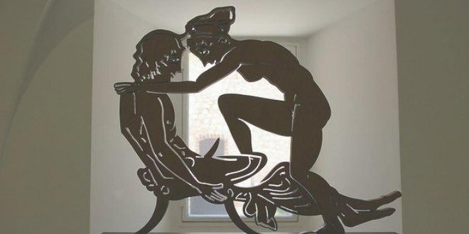 Escultura de Miró inspirada en la antigüedad clásica