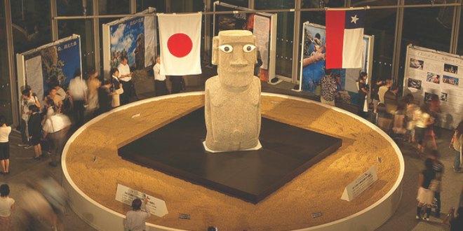 El moai de la Paz