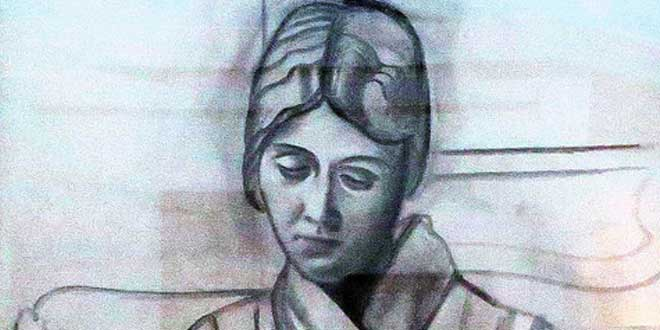 Retrato de Olga por Pablo Picasso (1920)