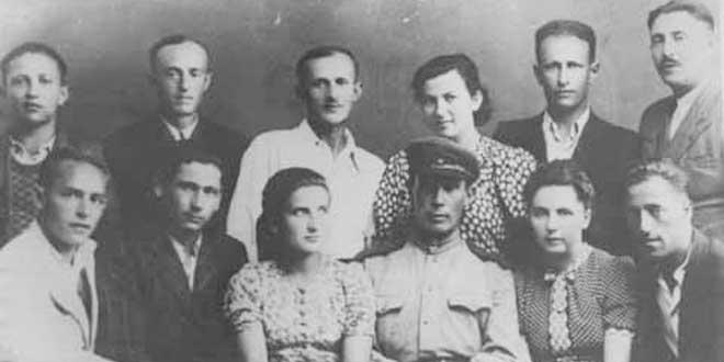 Participantes supervivientes del alzamiento de Sobibor