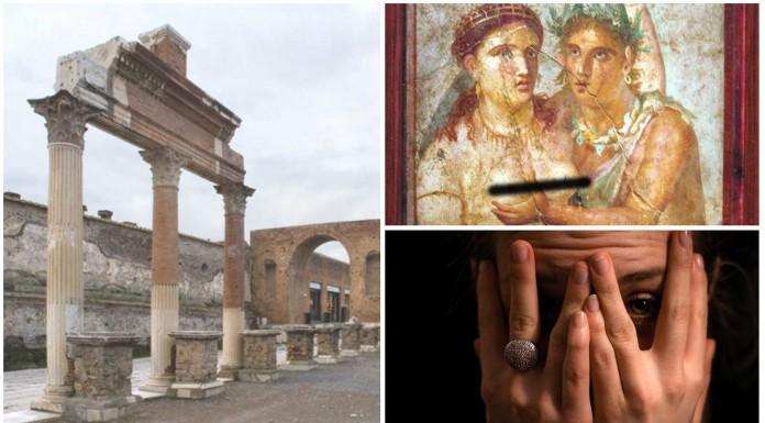 ¿Qué se encontró en Pompeya? ¿Qué es el Gabinete Secreto de Nápoles?