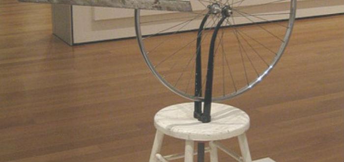 Duchamp, Ready Made, Rueda de Bicicleta