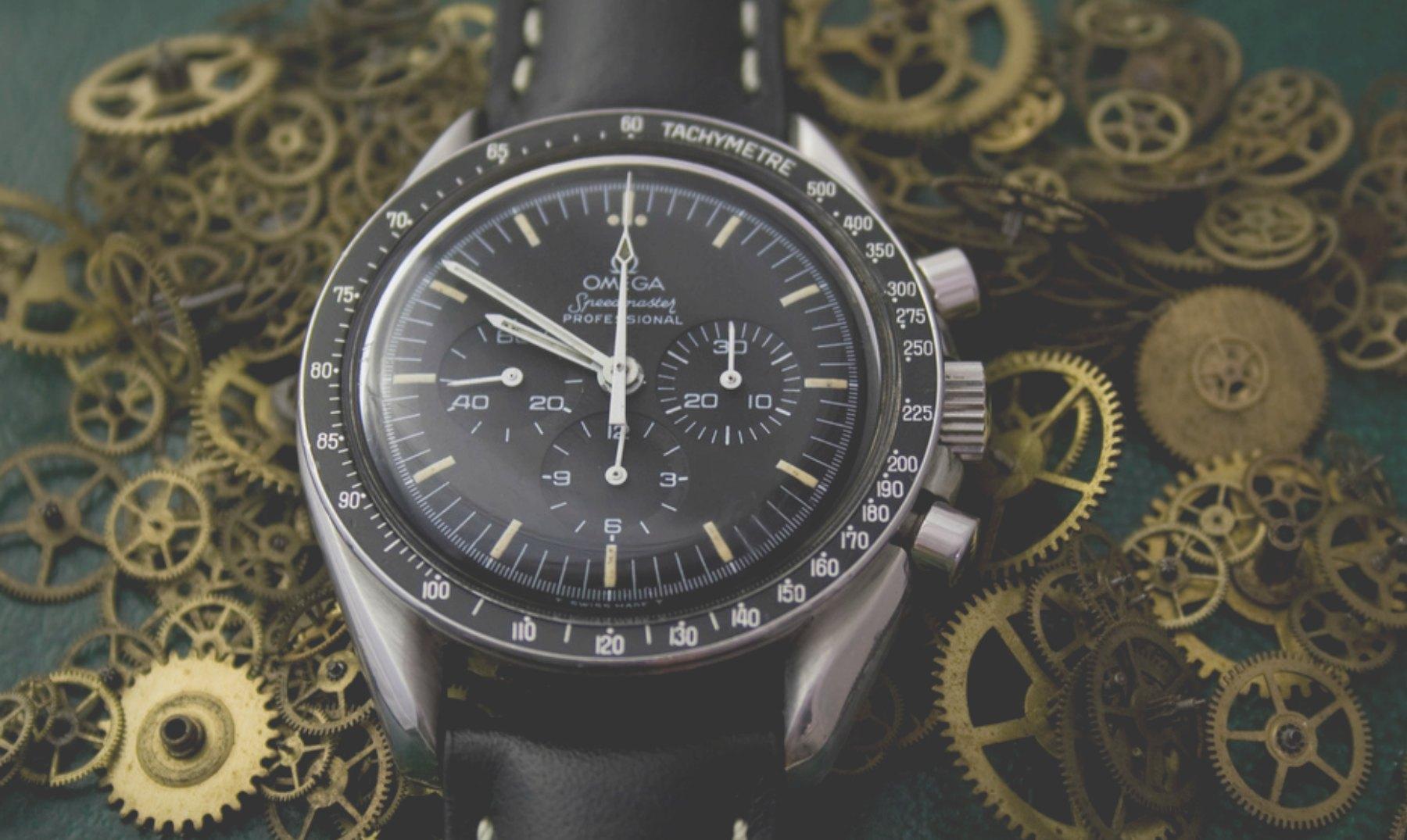 El primer reloj que viajó a la Luna
