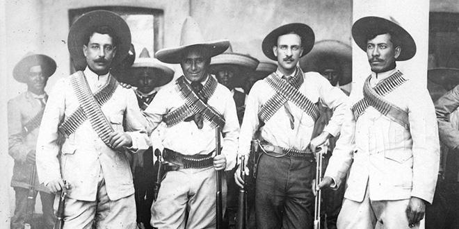 Soldados de la Fortuna, en la Revolución Mexicana