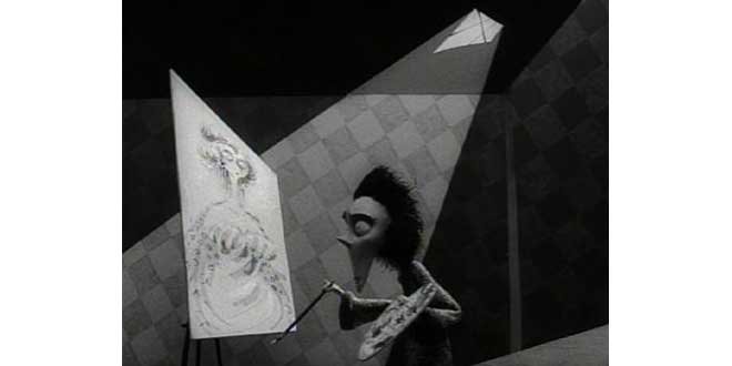 """Clip de """"Vincent"""" de Tim Burton (1982)"""