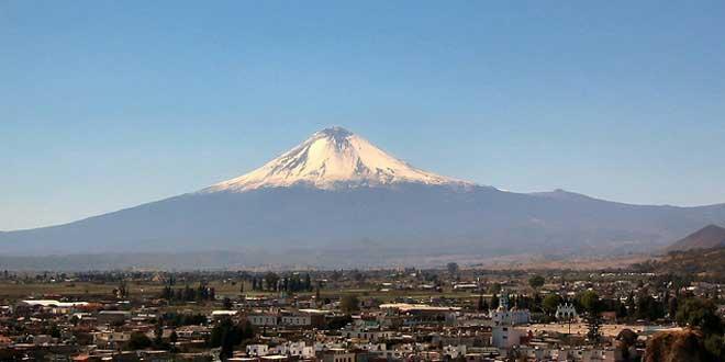 volcán de Popocatépetl