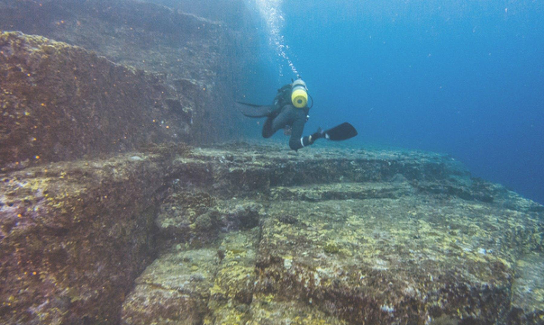 El misterio de las estructuras submarinas de Yonaguni