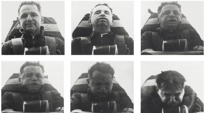 "John Paul Stapp, el primer ""dummy"" de carne y hueso"