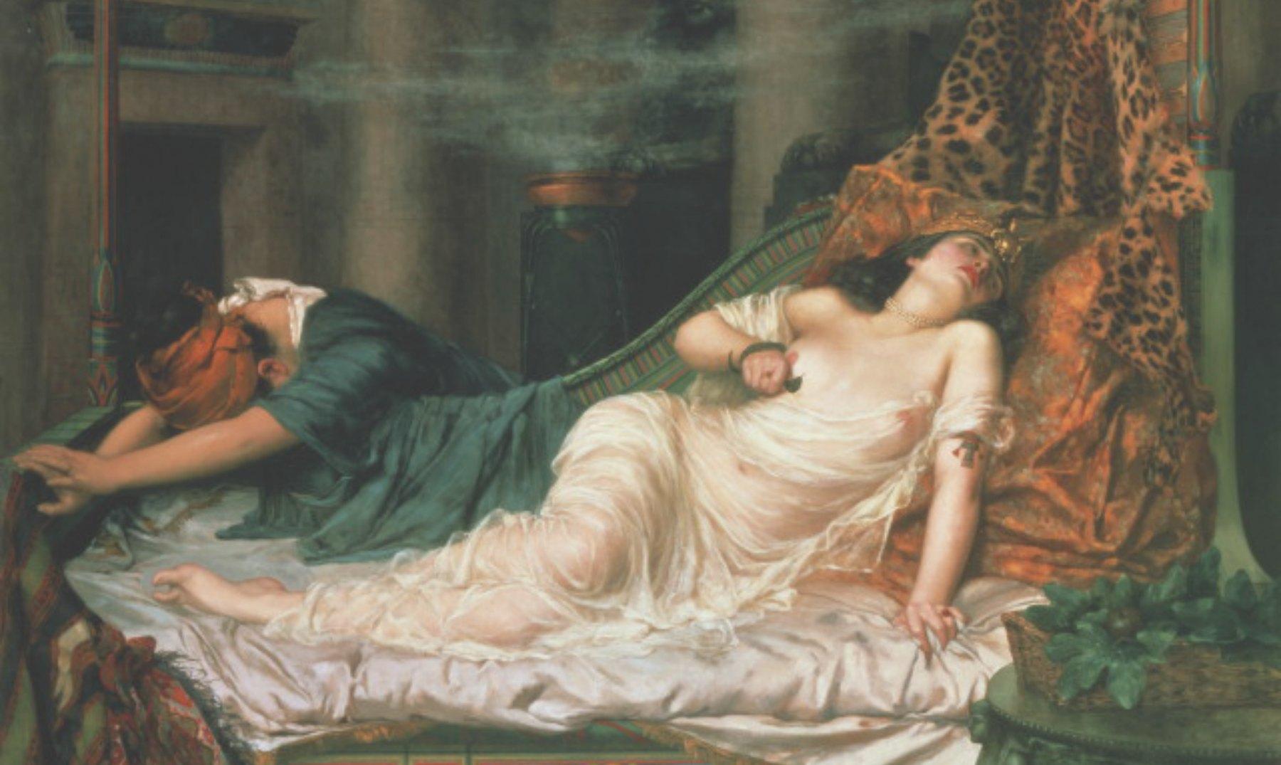 En busca de la tumba de Cleopatra