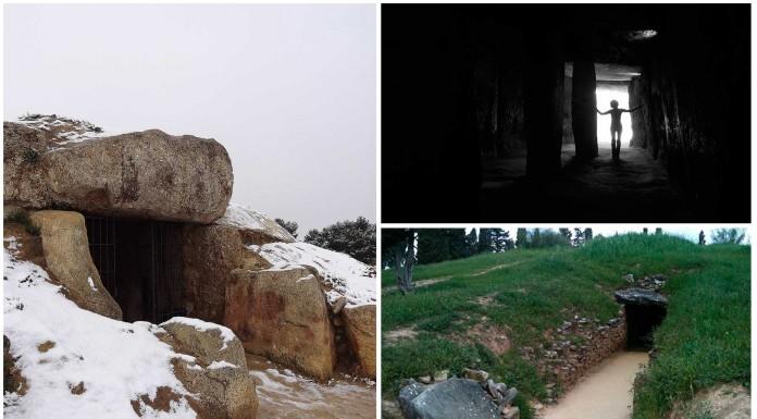Los 2 únicos dólmenes que no miran al Sol