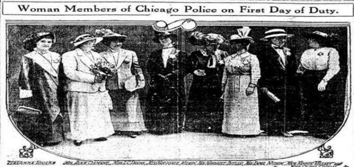 primera mujer detective