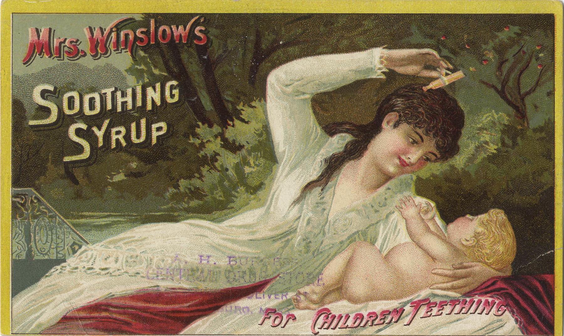 El aterrador jarabe para niños de la Señora Winslow