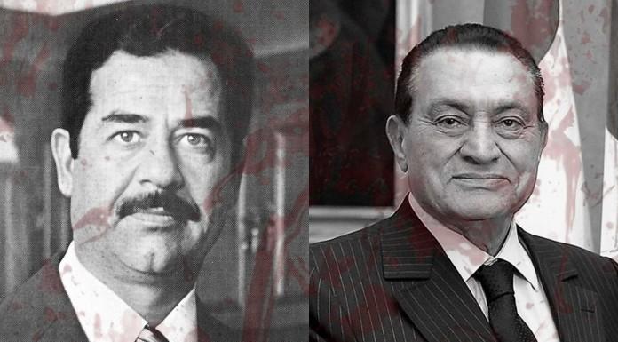 Dictadores de la historia: Sadam y Mubarak