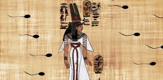 ¿Los egipcios conocían el espermatozoide?!