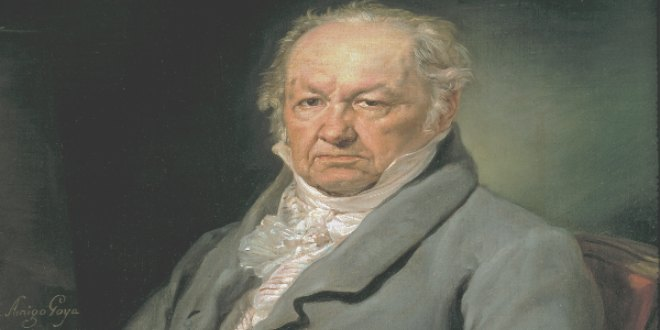 Retrato de Goya por Vicente López