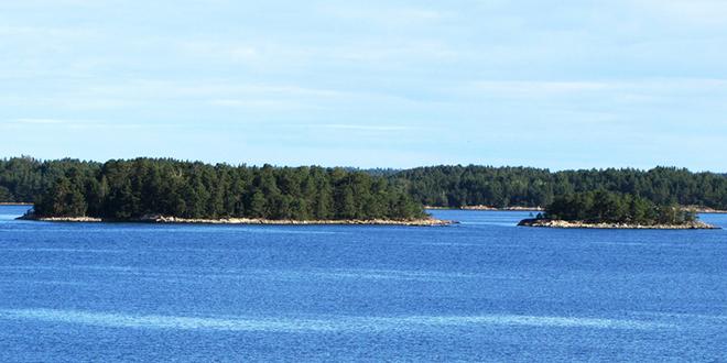 Golfo de Botnia, entre Suecia y Finlandia