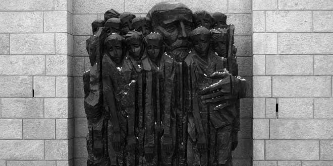 Janusz y los niños, memorial en Yad Vashem