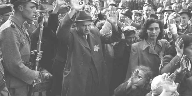 judíos durante el holocausto