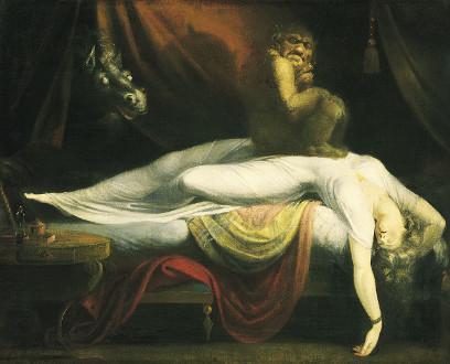 La pesadilla, de Henry Fuseli