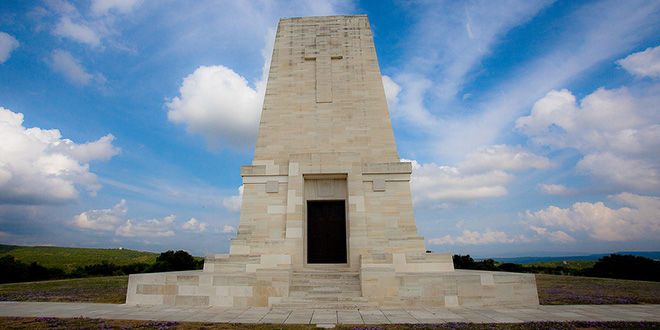 Monumento en Gallipoli