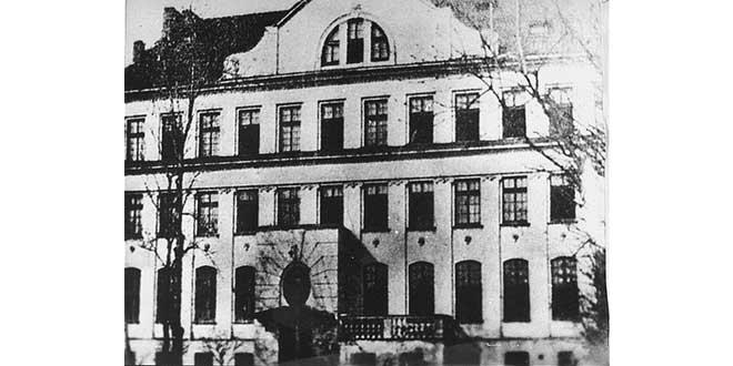 El orfanato donde trabajó Korczak al final de sus días