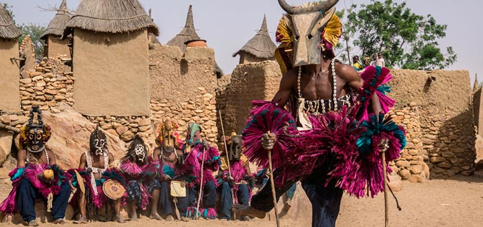 Tribus del mundo, Dogón, máscara tradicional