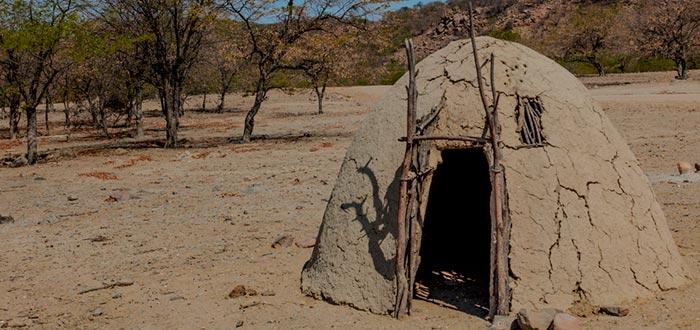 casa himba, tribus del mundo