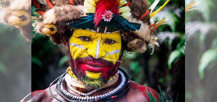 tribus del mundo, huli wigmen