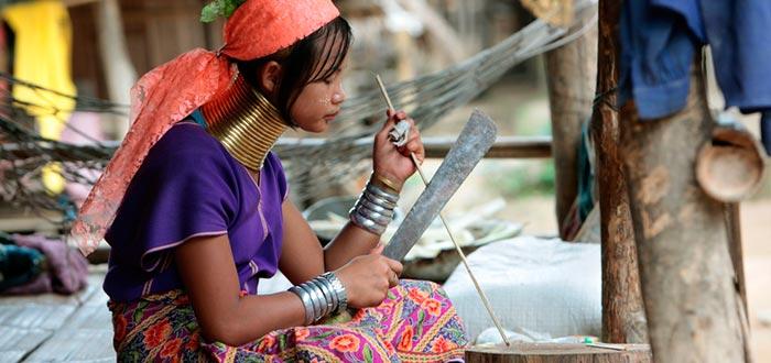tribus del mundo, kayan, padaung