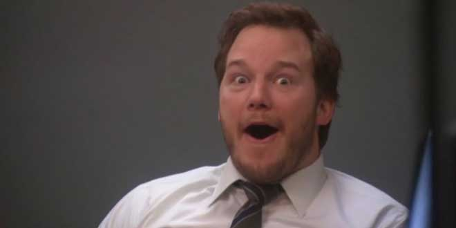 "Chris Pratt en ""Parks and Recreation"""