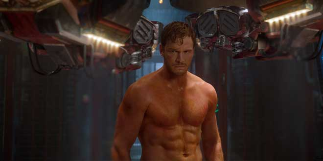 "Chris Pratt en ""Guardianes de la Galaxia"""