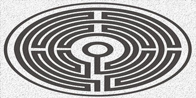 Laberinto medieval de 7 circuitos