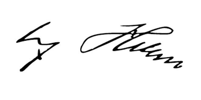 Firma de Adolf Hitler