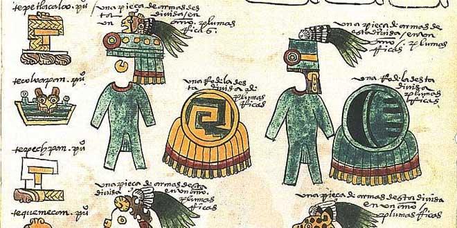 fragmento códice mendoza