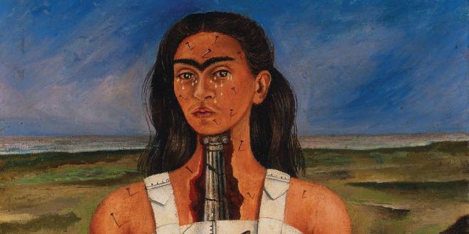 """""""La columna rota"""", obra de Frida Kahlo, la enfermedad de Frida Kahlo"""