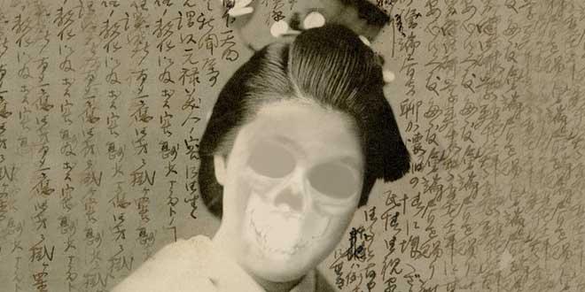 geisha esqueleto