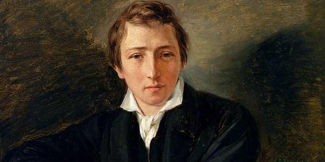 El poeta y ensayista Heinrich Heine era de origen judío asquenazí