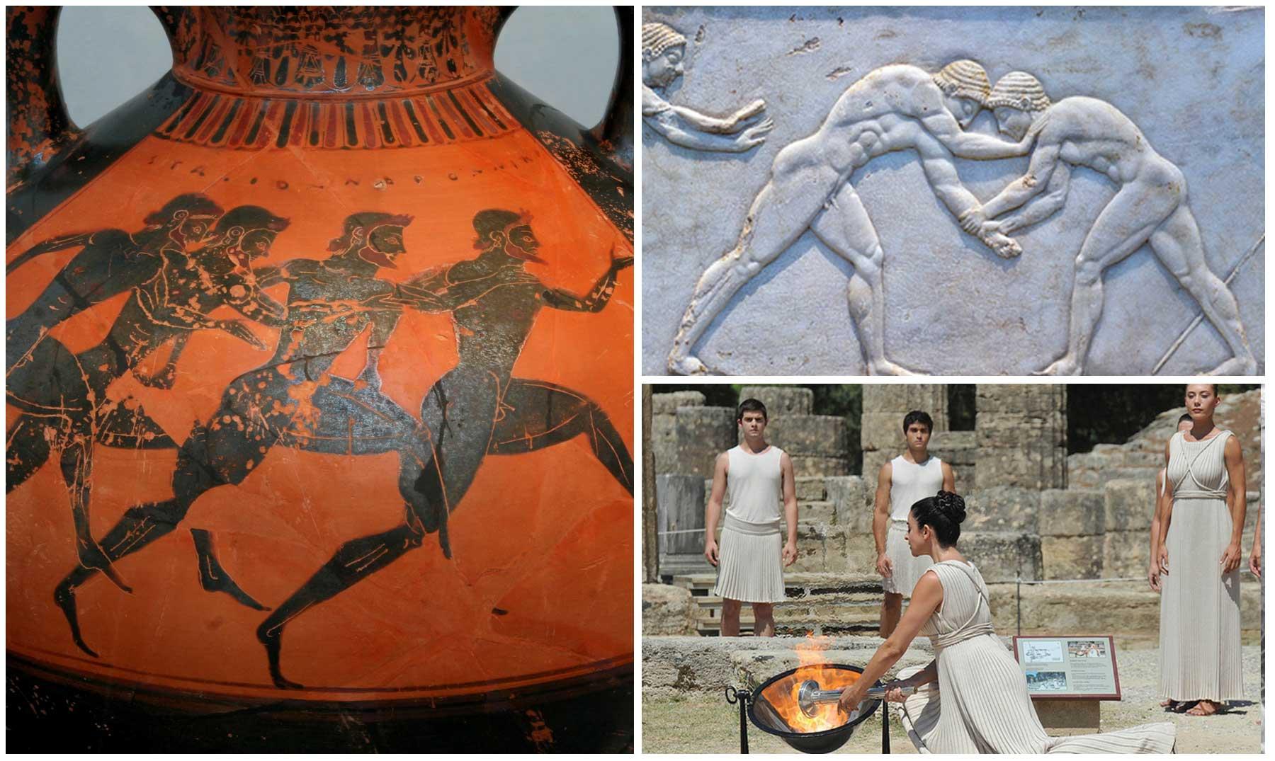 Los juegos en la antigua grecia for Costumbres de grecia