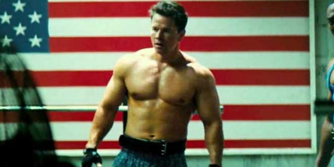 "Mark Wahlberg en ""Pain and Gain"""