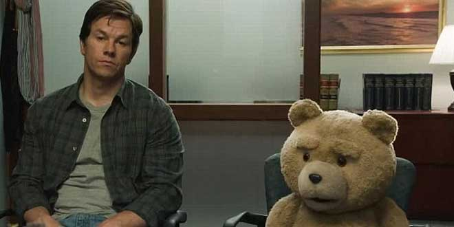 "Mark Wahlberg en ""Ted"""