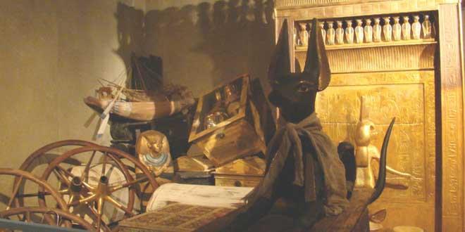 tesoros Tutankamon