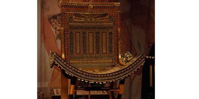 trono tutankamon