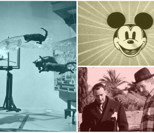 La relación entre Dalí y Walt Disney