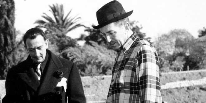 Salvador Dalí y Walt Disney