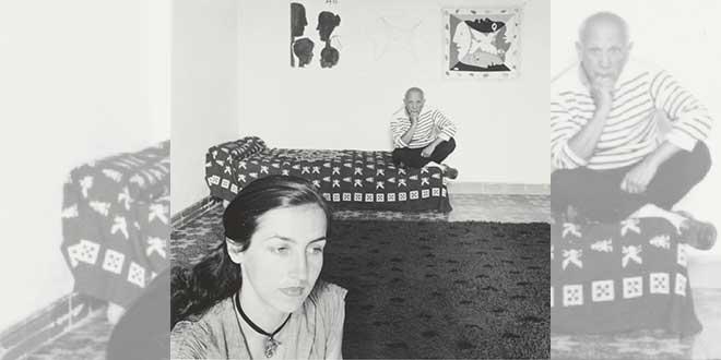Françoie Gilot y Picasso, 1952