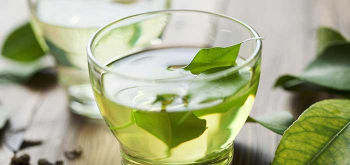 alimentos anticancerígenos. Té verde